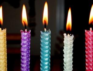 Цвет свечи и его значение