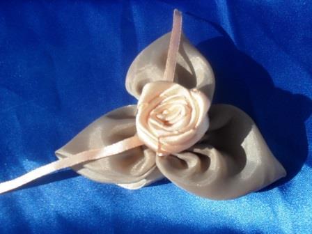 Как сделать цветок из ткани своими руками, мастер-класс