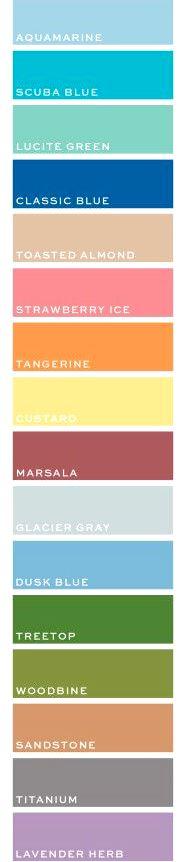 Модные цвета 2015 года в одежде