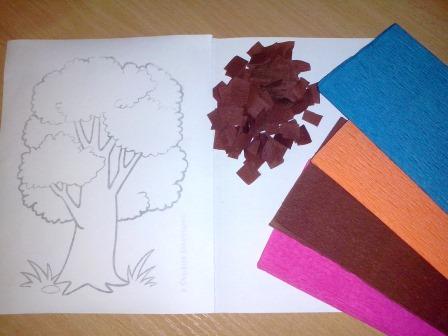 Торцевание из гофрированной бумаги – техника создания картинки