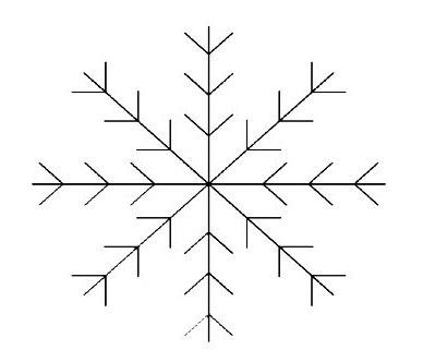 вышивка снежинка схема